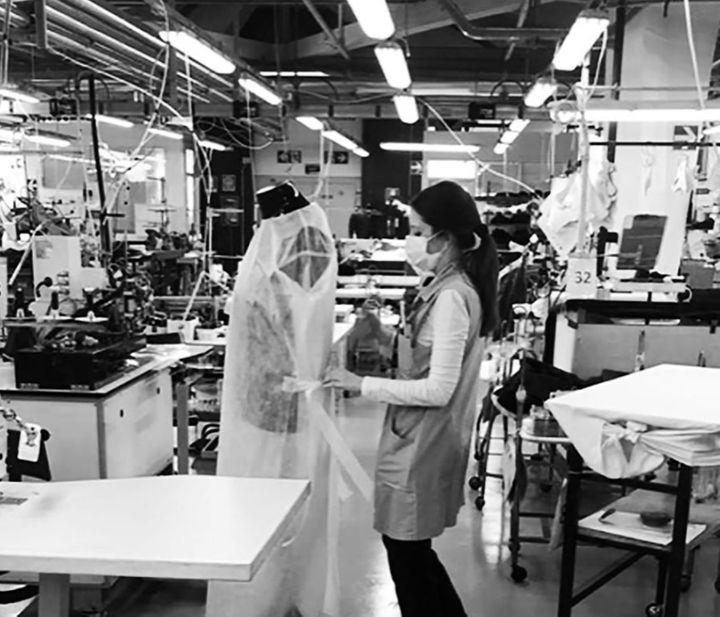 Actions engagées par les ateliers Armani